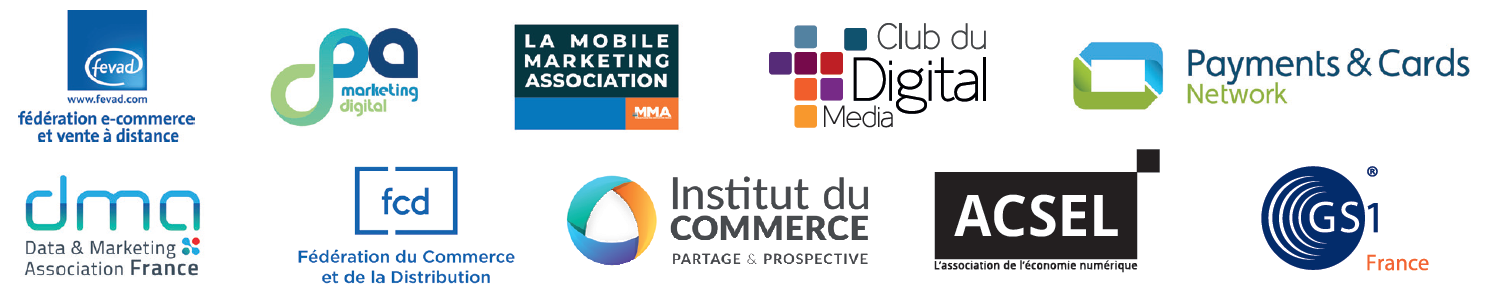 Découvrez les partenaires institutionnels de Paris Retail Week