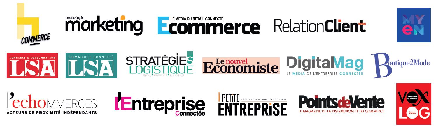 Découvrez les partenaires médias de Paris Retail Week